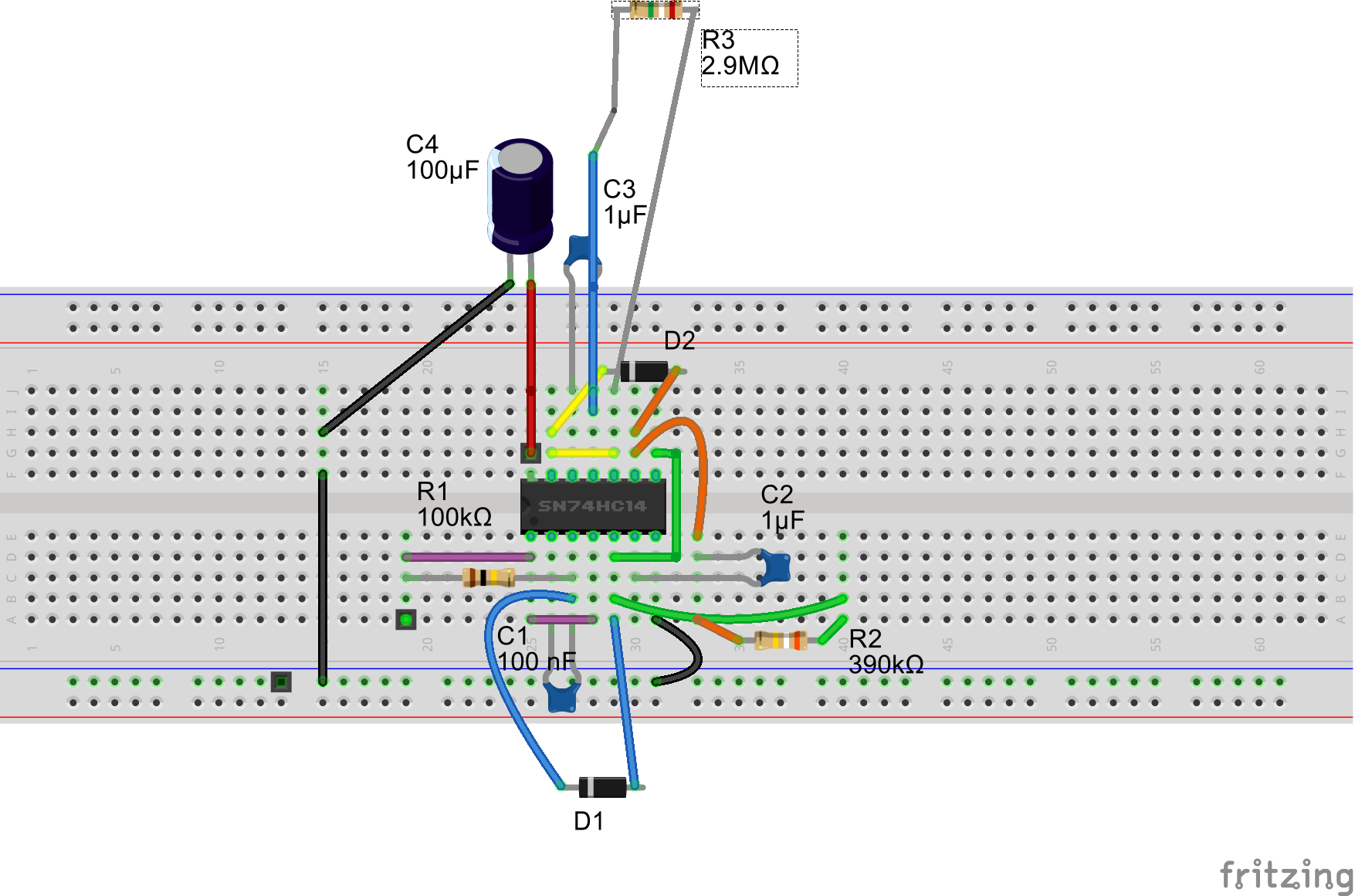 Random snippets of knowledge - Cricket Chirping Circuit